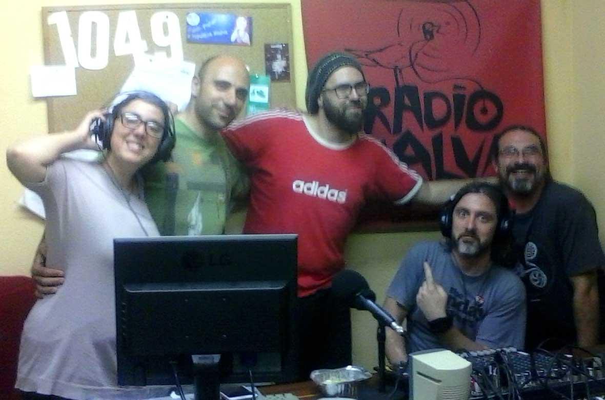 David Trashumante presenta #Vociferio2016 en Radiomalva